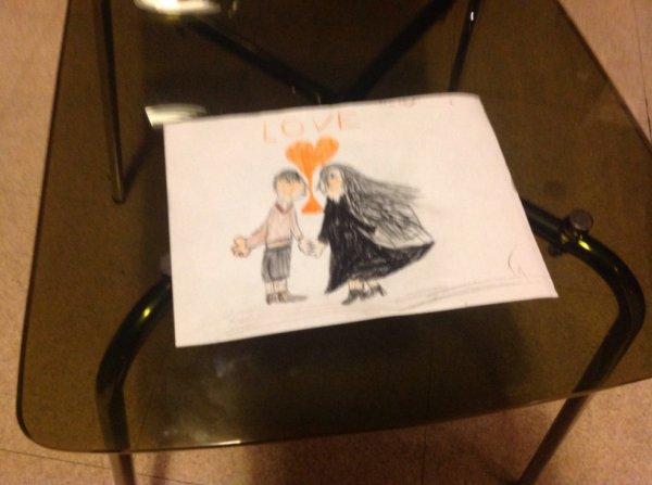 mon dessin pour la saint - valentin