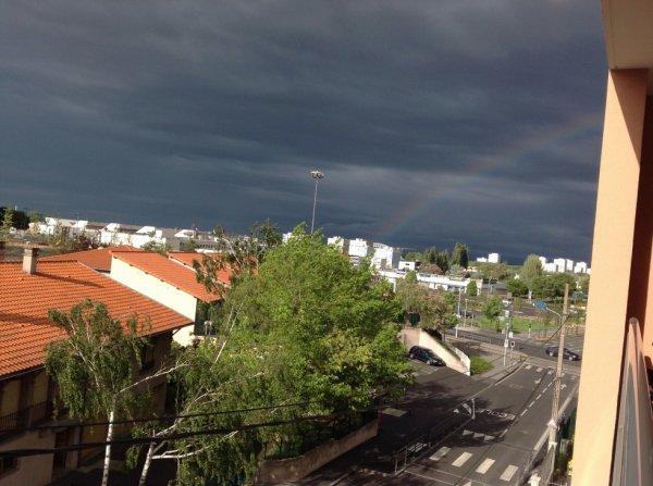 belle arc-en-ciel a clermont-ferrand