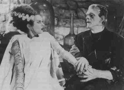 La fiancée de Frankenstein(1935) aka The bride of Frankenstein
