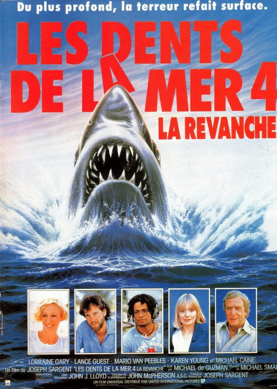 Jaws 4 (1987)aka Les Dents de la Mer 4 :La Revanche