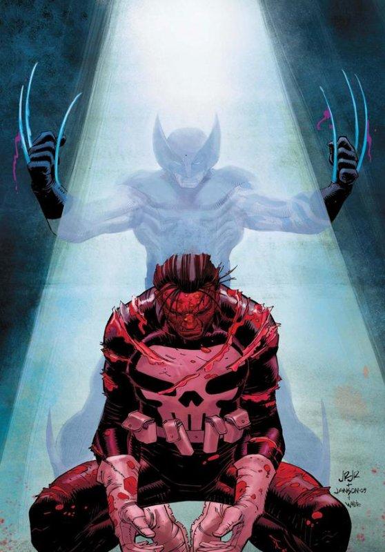 Death of a Punisher (2009) dessins de John Romita Jr, couleur de Dean White