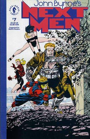 Nextmen 7 (1992) par John Byrne