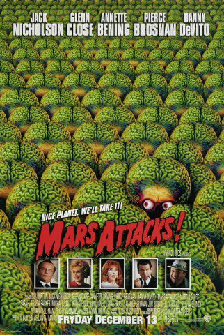 Mars Attacks ! (1996)