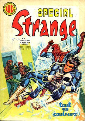Spécial Strange 3 (1976), cover par Jean Frisano