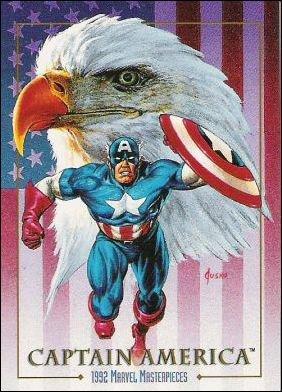 Captain América (1992) peinture de Joe Jusko