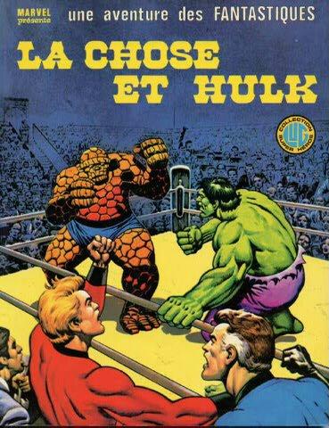 La Chose et Hulk (1979), cover par: Jean Frisano