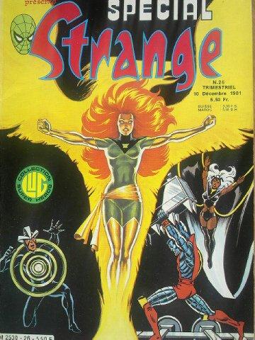 Spécial Strange 26 (1981), cover par: Jean Frisano