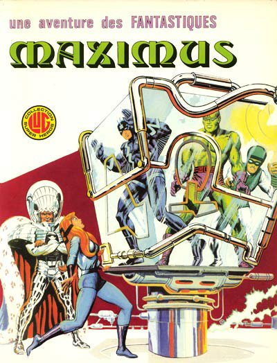 Maximus (1976), cover par: Jean Frisano