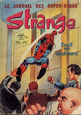 Strange 66 (1975), cover par: Jean Frisano