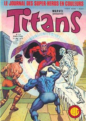 Titans 20 (1979), cover par: Jean Frisano