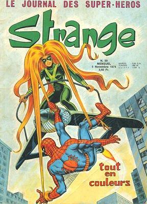 Strange 59 (1974), cover par: Jean Frisano