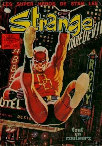 Strange 34 (1972), cover par: Jean Frisano