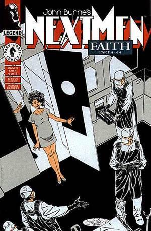 Nextmen 22 (1994), cover et dessins de: John Byrne