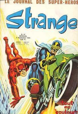 Strange 57 (1974), cover par: Jean Frisano