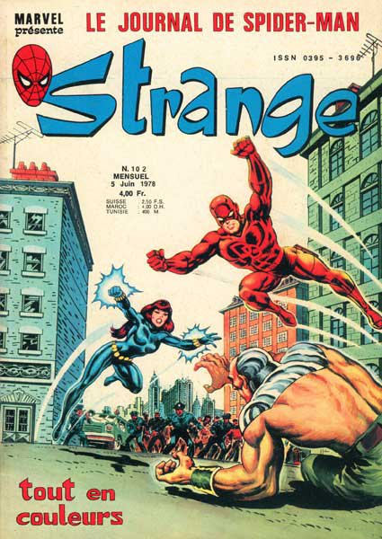 Strange 102 (1978), cover par: Jean Frisano