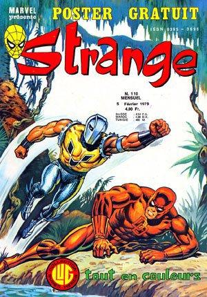 Strange 110 (1979), cover par: Jean Frisano