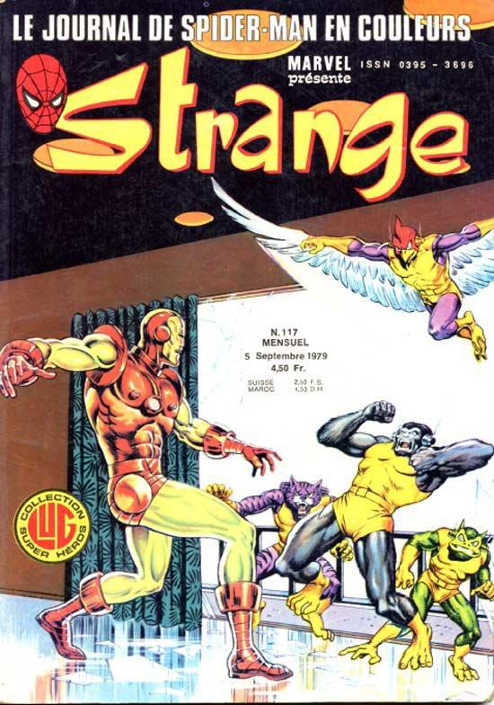 Strange 117 (1979), cover par: Jean Frisano