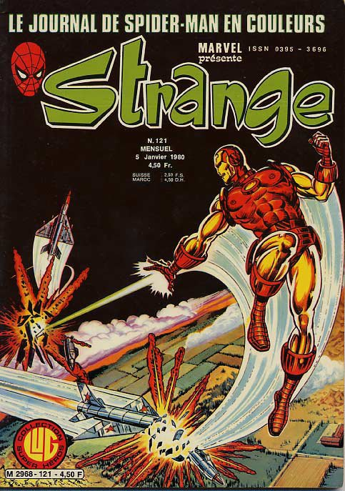 Strange 121 (1980), cover par: Jean Frisano