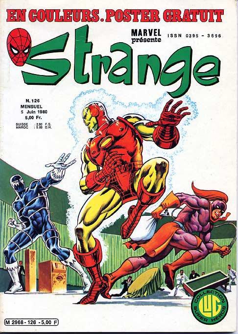 Strange 126 (1980), cover par: Jean Frisano