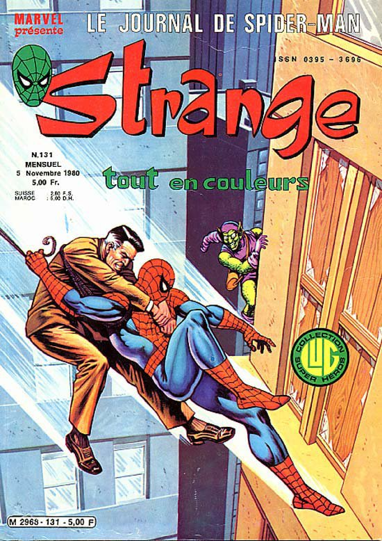 Strange 131 (1980), cover par: Jean Frisano
