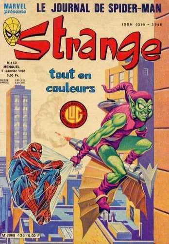 Strange 133 (1981), cover par: Jean Frisano
