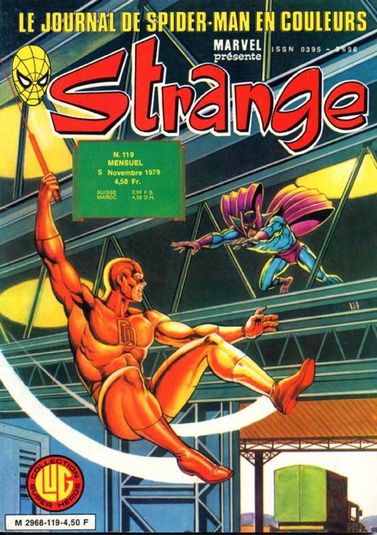 Strange 119 (1979), cover par: Jean Frisano