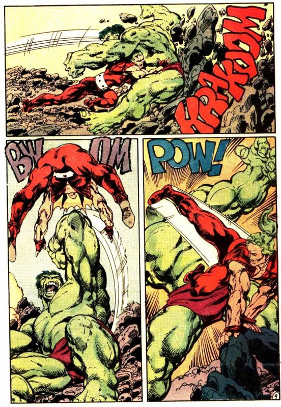 The Incredible Hulk 316 (1986), dessins de John Byrne