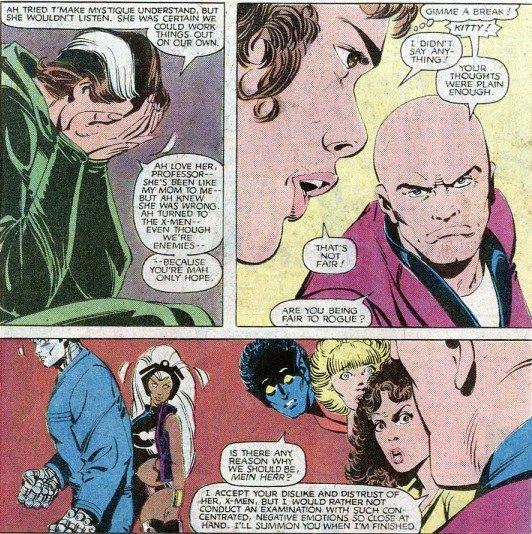 Les étranges X-Men: La Reine des Morlocks (1986), cover par Jean Frisano
