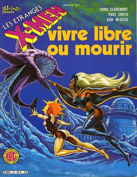 Vivre Libre ou Mourir (1986), cover par: Jean Frisano