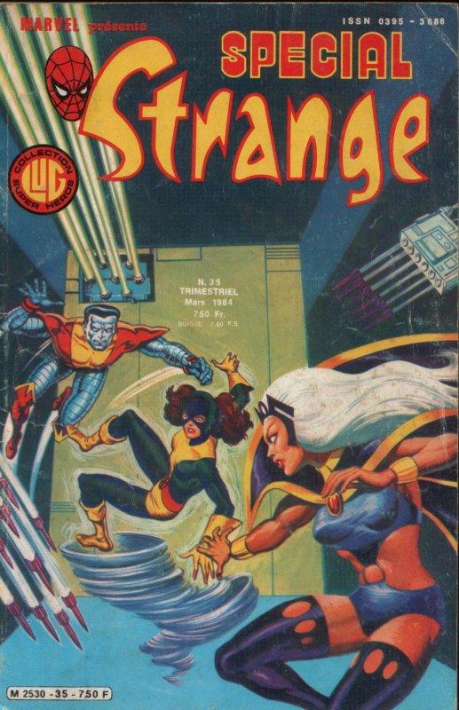 Spécial Strange 35 (1984), cover par: Jean Frisano