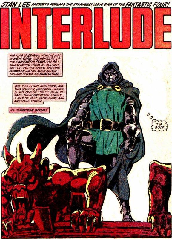 Fantastic Four 258 (1983), dessins de John Byrne