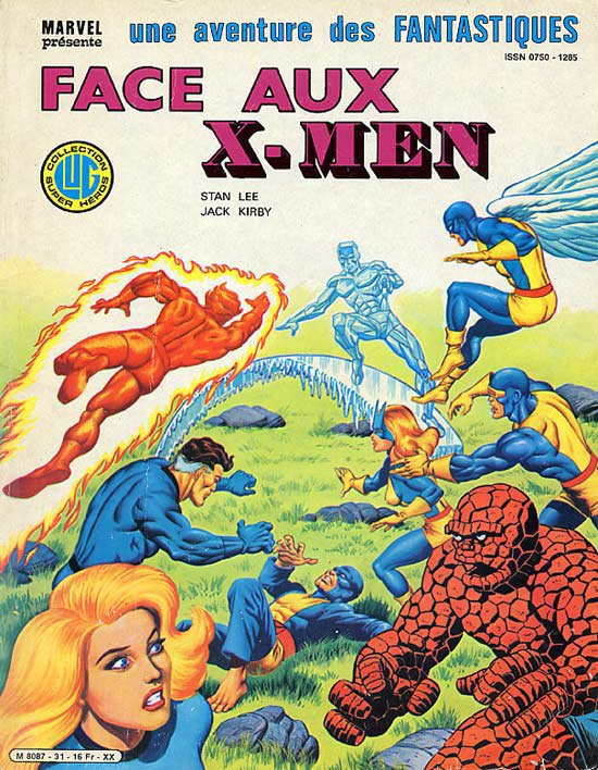 Face aux X-Men (1983), cover par: Jean Frisano