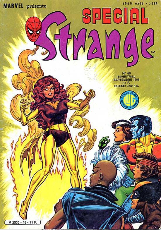 Spécial Strange 46 (1986), cover par: Jean Frisano