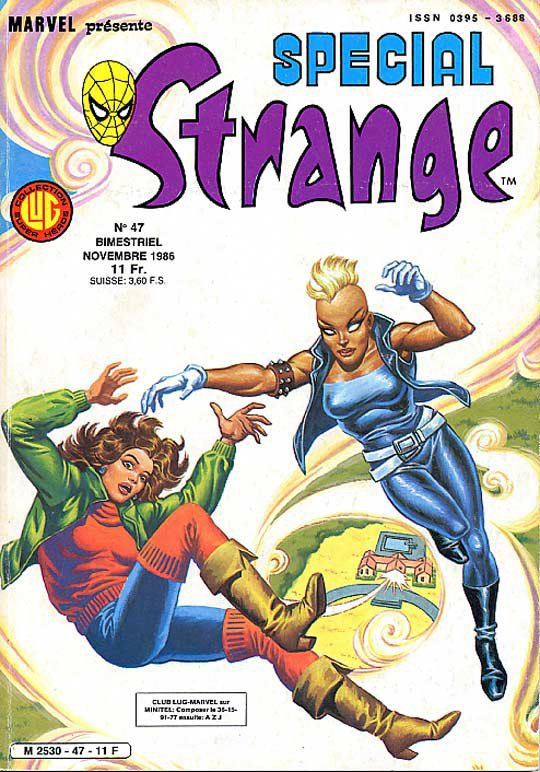 Spécial Strange 47 (1986), cover par: Jean Frisano