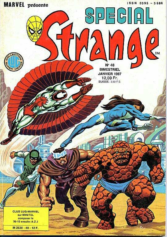 Spécial Strange 48 (1987), cover par: Jean Frisano