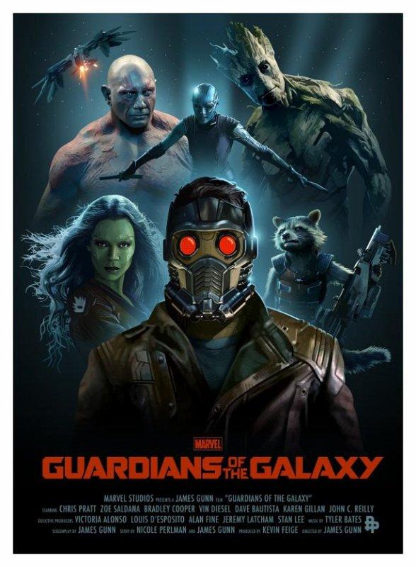 Les Gardiens de la Galaxie (2014) aka The Guardians of the Galaxy