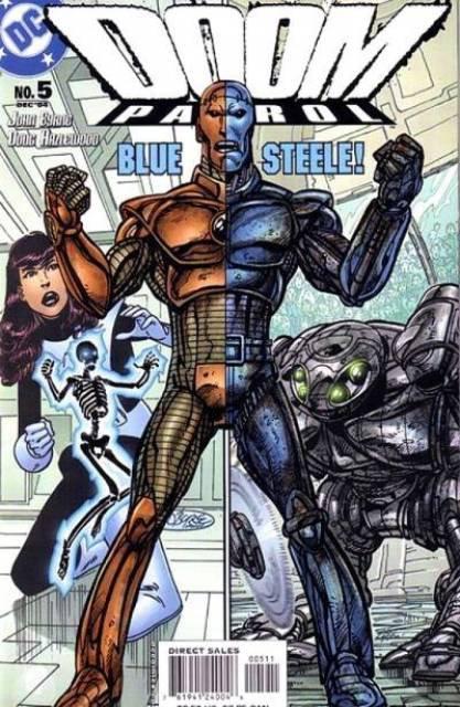 Doom Patrol 5 (2004), dessins et scénario de: John Byrne