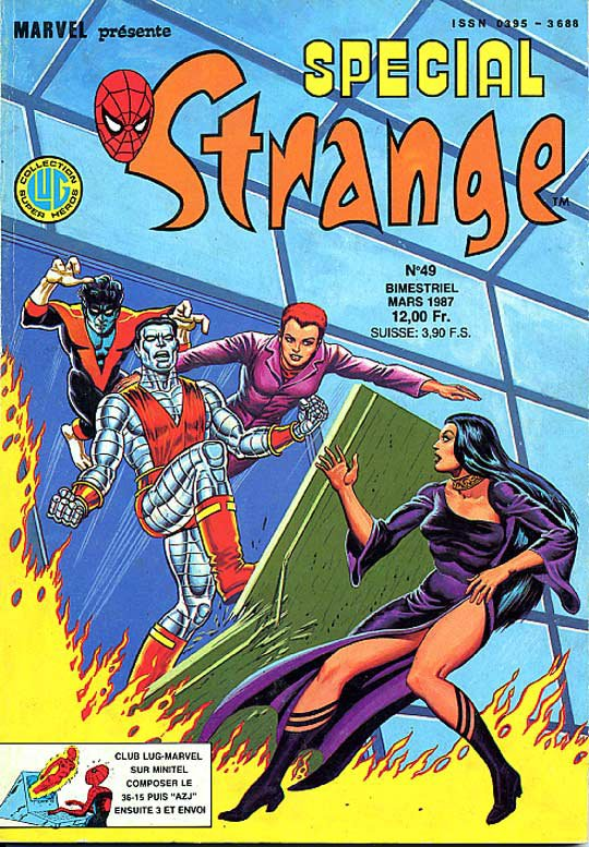 Spécial Strange 49 (1987), cover par: Jean Frisano