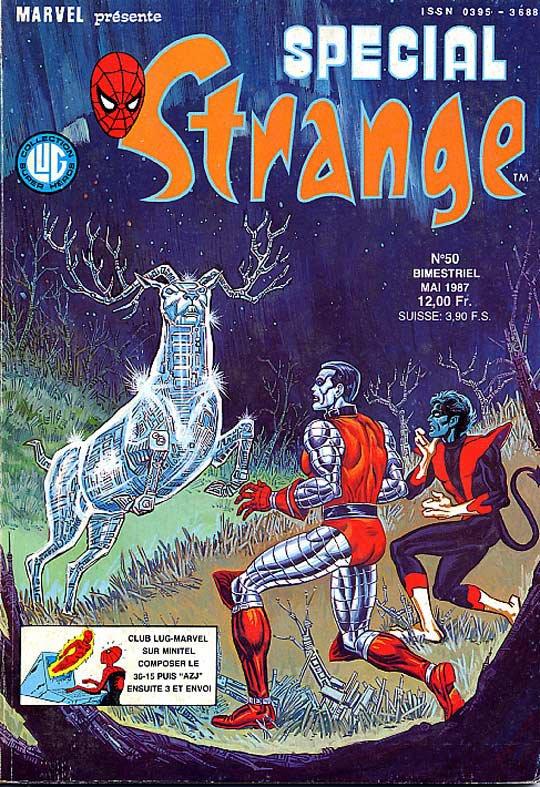Spécial Strange 50 (1987), cover par: Jean Frisano