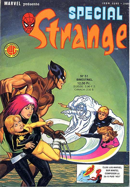Spécial Strange 51 (1987), cover par: Jean Frisano
