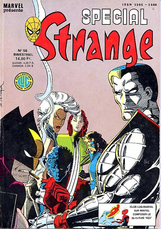 Spécial Strange 56 (1987), cover et dessins de: John Romita Jr