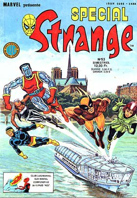 Spécial Strange 53 (1987), cover par: Jean Frisano
