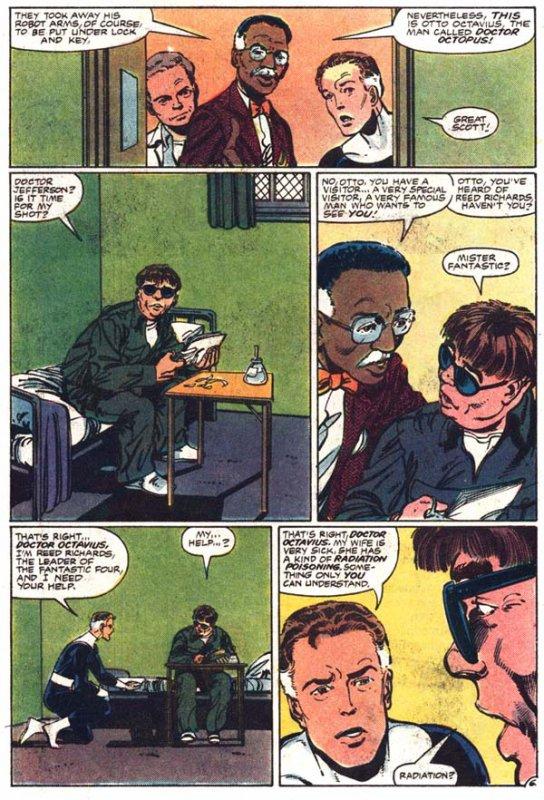 Fantastic Four 267 et 268 (1984), cover et dessins de: John Byrne