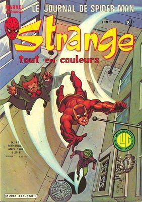 Strange 147 (1982), cover par: Jean Frisano