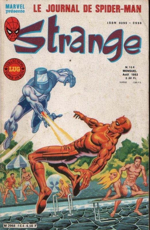Strange 164 (1983), cover par Jean Frisano