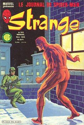 Strange 195 (1986), cover par: Jean Frisano