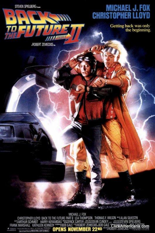 Back to the Future 2 (1989) aka Retour vers le futur 2