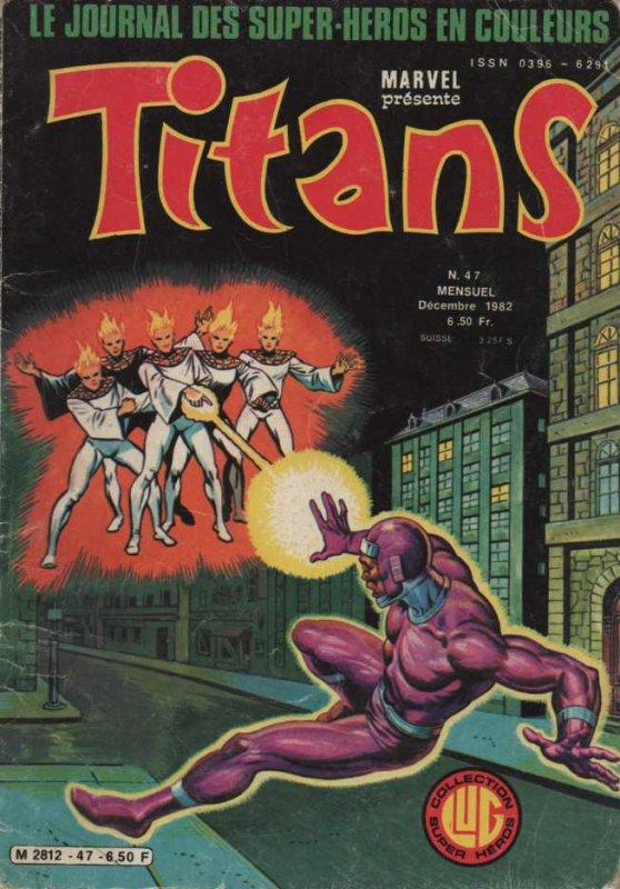 Titans 47 (1982), cover par: Jean Frisano
