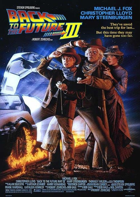Back to the Future 3 (1990), aka Retour vers le futur 3
