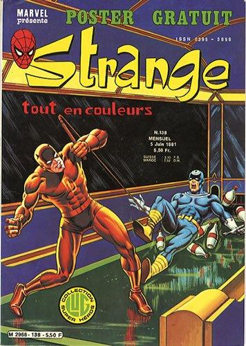 Strange 138 (1981), cover par: Jean Frisano